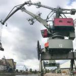 Sendung mit der Maus Türöffnertag, Kran 21 bayernhafen Regensburg