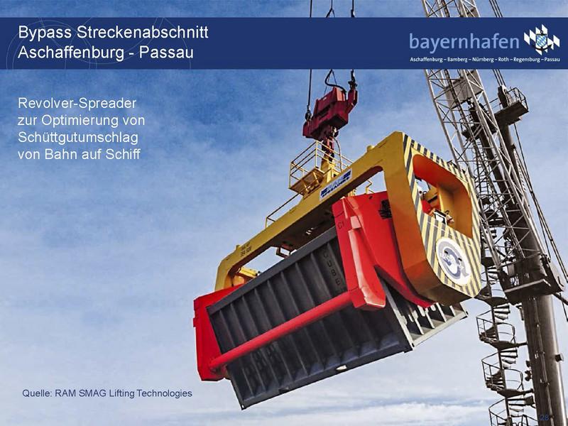 bayernhafen bypass donau verladetag