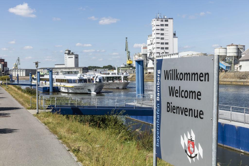 Kreuzfahrtsschiffe bayernhafen Bamberg