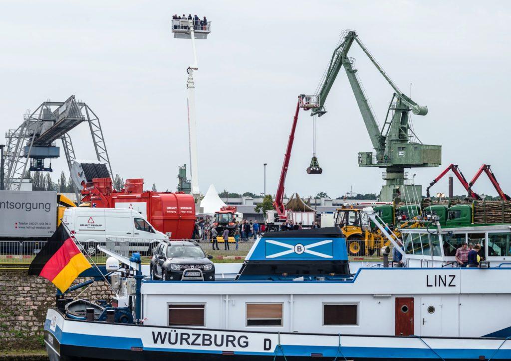 Technikschau - Hafenfest 2017 - bayernhafen Aschaffenburg