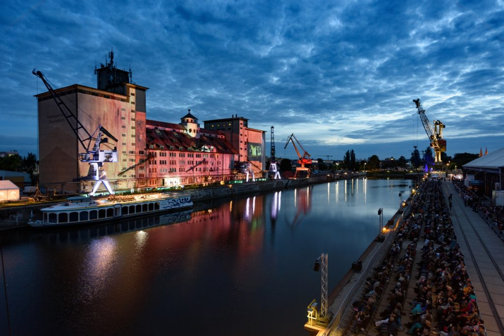 Stadtlagerhaus bayernhafen Theater Regensburg- Oper Fliegender Holländer 2017