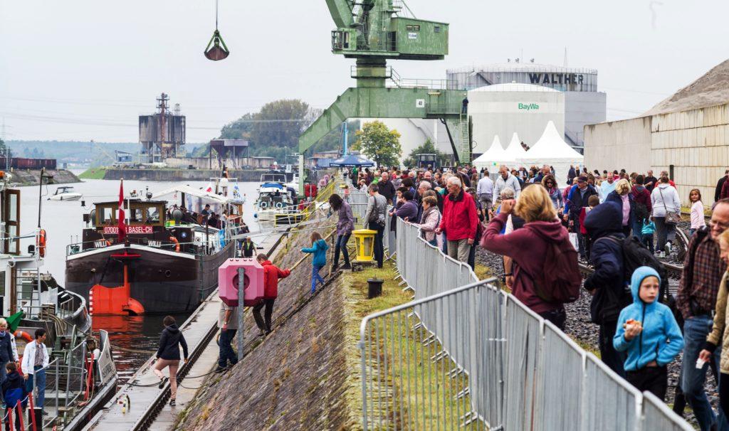 25.000 Besucher - Hafenfest 2017 - bayernhafen Aschaffenburg