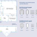 Bestuhlungsplan Tagungszentrum
