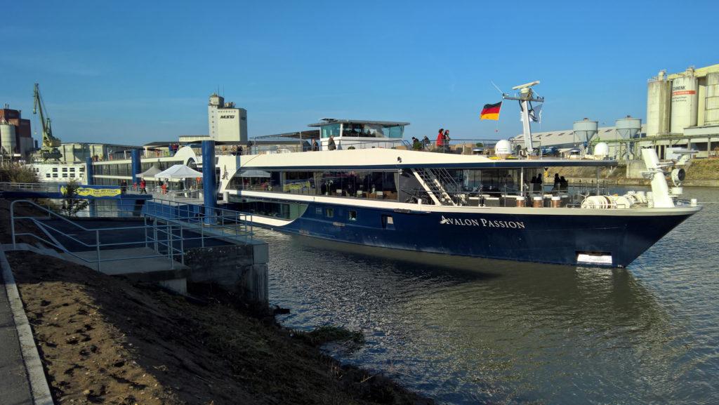 Kreuzfahrtschiffe bayernhafen Bamberg