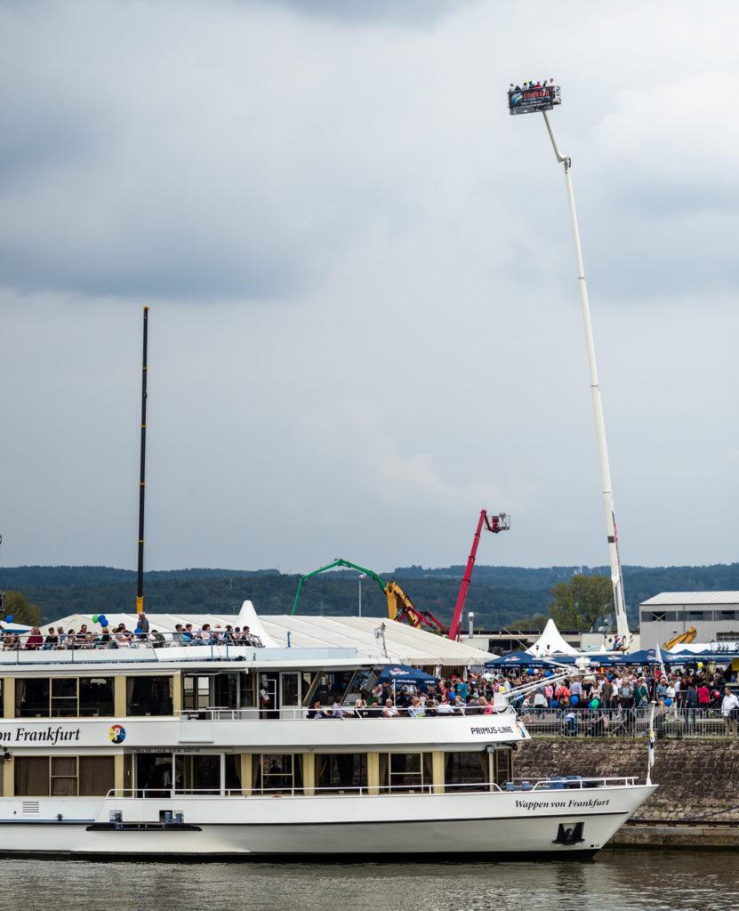 Passagierschiff - Hafenfest 2017 - bayernhafen Aschaffenburg