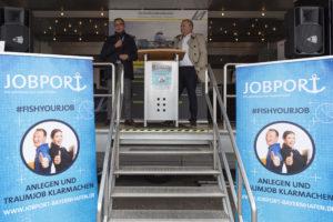 Jobmesse Jobport 2019 bayernhafen Nürnberg, Eröffnung