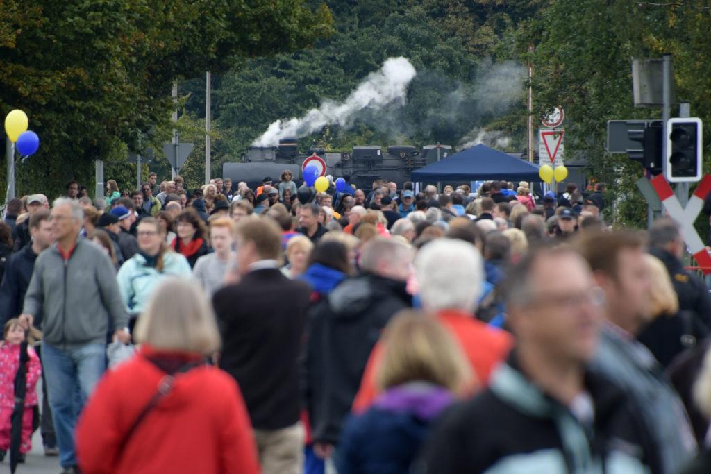 Dampflok- Hafenfest 2016 - bayernhafen Nürnberg