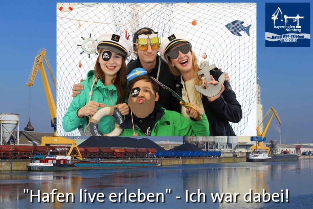 Fotobox - Hafenfest 2016 - bayernhafen Nürnberg