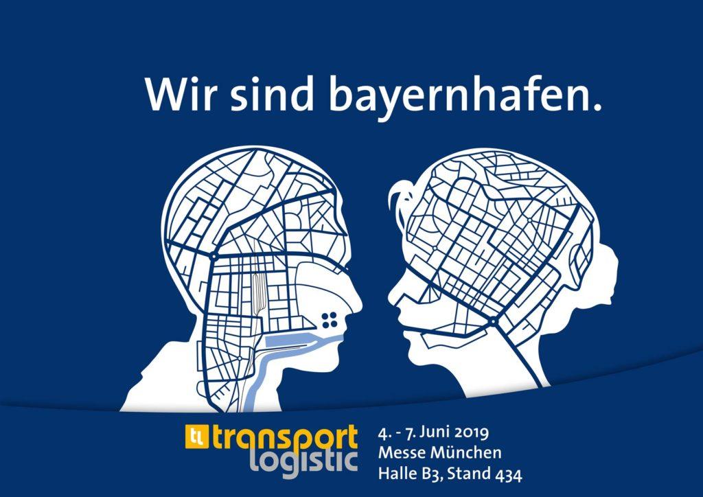 Köpfe Standortarchitekt Ankündigung Messe transport logistic