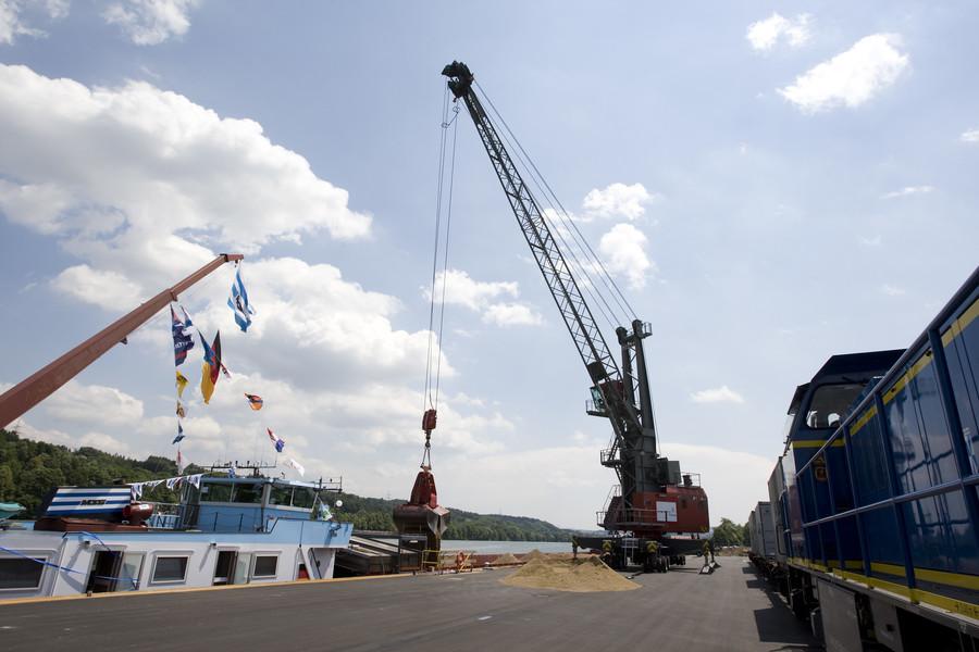 Eröffnung Hafen Passau Schalding 27.6.2008