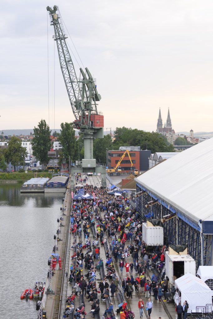 Kai Westhafen bayernhafen Regensburg Oper Tosca