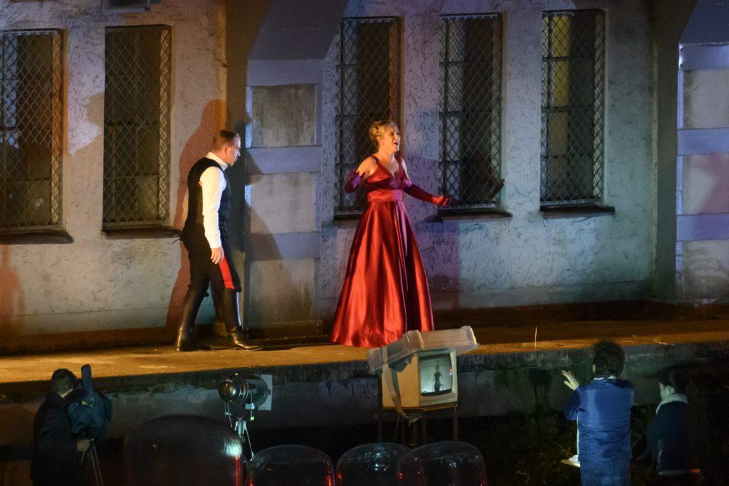 Stadtlagerhaus bayernhafen Regensburg Oper Tosca