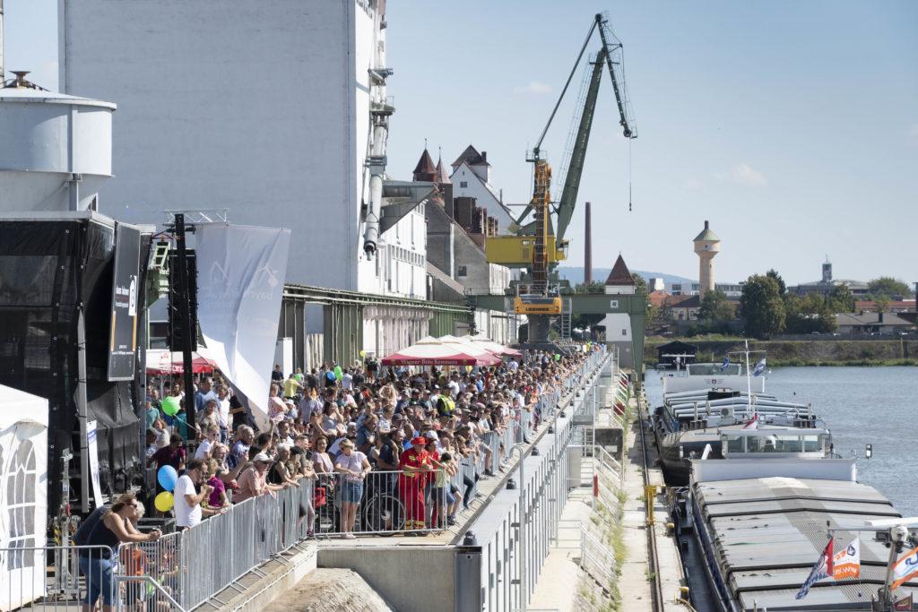 Flaniermeile am Kai - Hafenfest 2019 - bayernhafen Bamberg