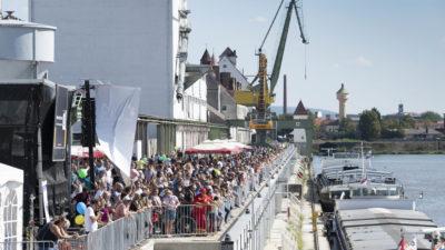 Hafenkai bayernhafen Bamberg Hafenfest 2019