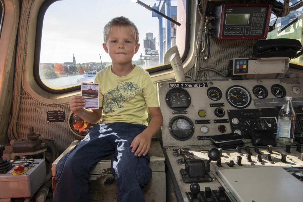 Lokführerschein für Kinder - Hafenfest 2019 - bayernhafen Bamberg