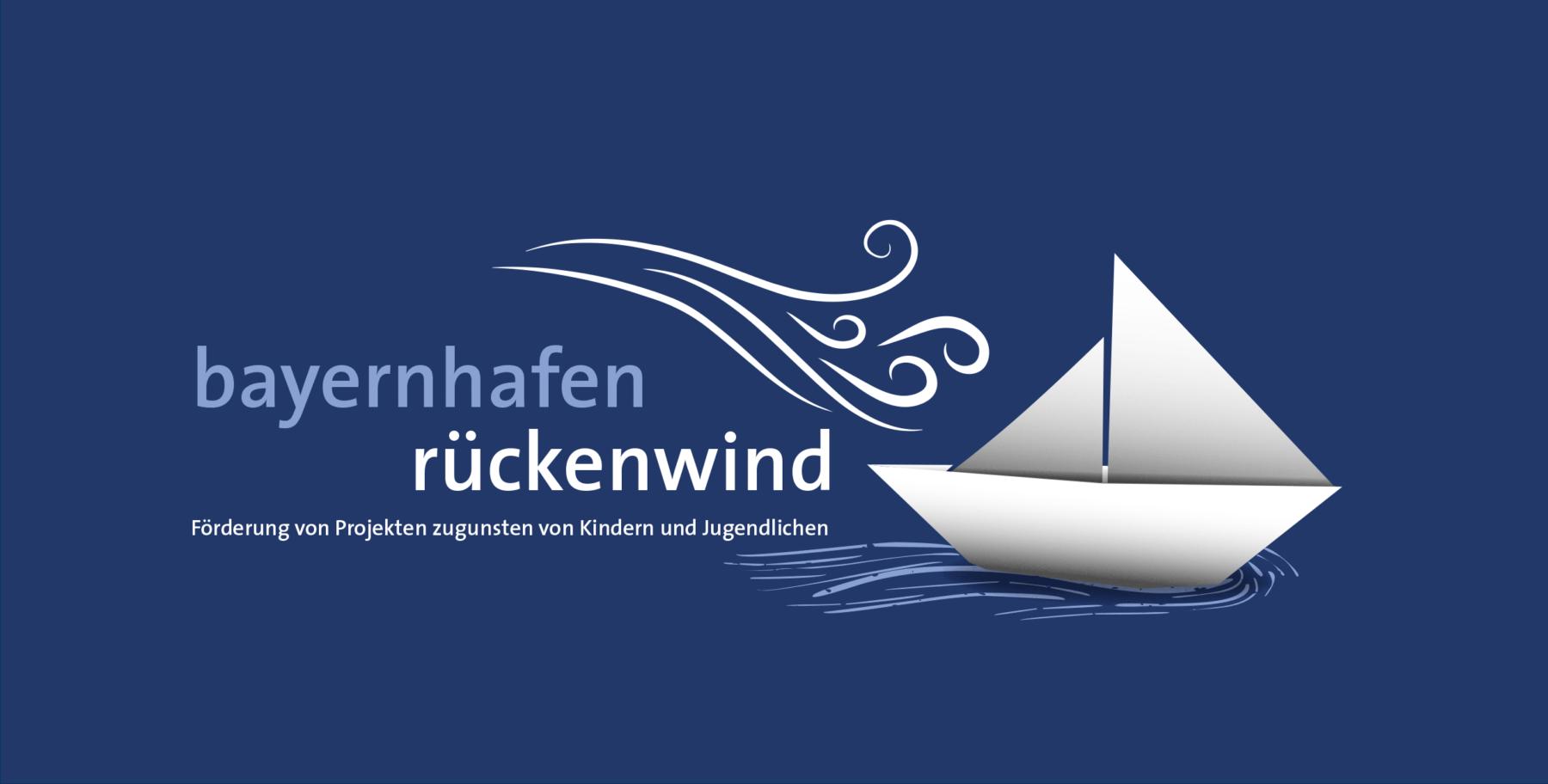 Grafik Spendenwettbewerb bayernhafen rückenwind KeyVisual