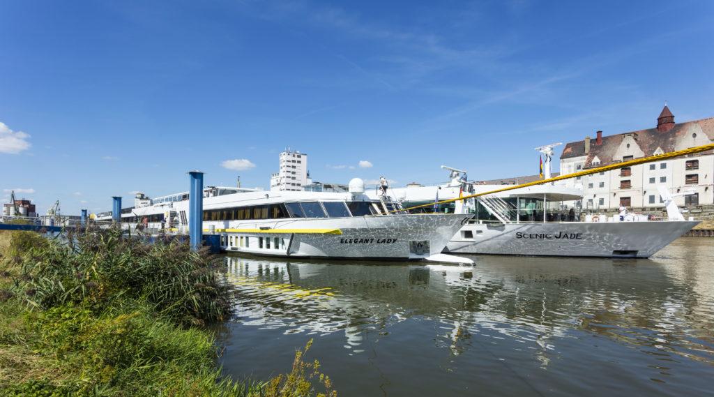 Flusskreuzfahrtschiffe bayernhafen Bamberg