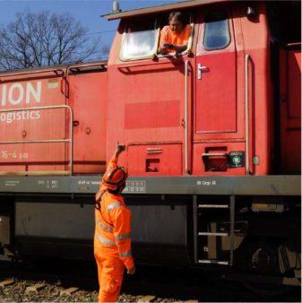 Mitarbeiter DB Cargo