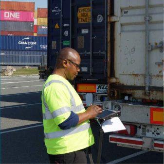 Mitarbeiter TriCon Container-Terminal Nürnberg GmbH