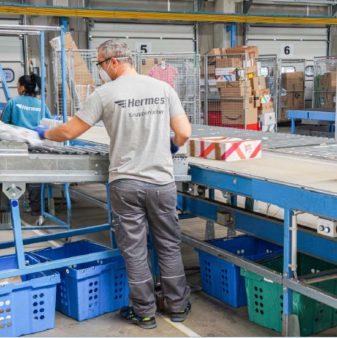 Mitarbeiter Hermes Germany GmbH