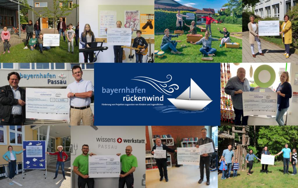 Spendenfotos Spendenwettbewerb bayernhafen rückenwind