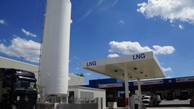 Eröffnung LNG-Tankstelle bayernhafen Nürnberg