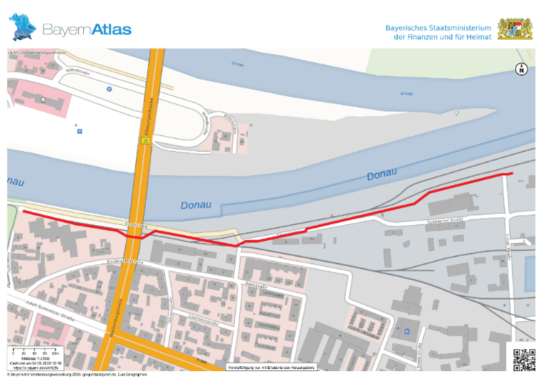Plan Hochwasserschutz