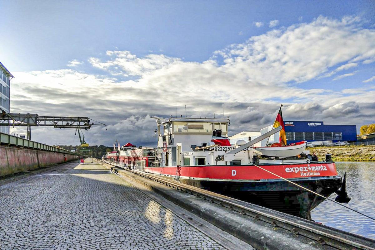 MS experimenta im bayernhafen Bamberg