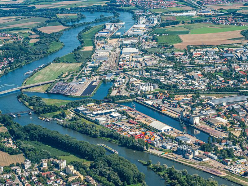 Beweidung bayernhafen Bamberg