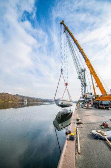 Schwergut bayernhafen Passau