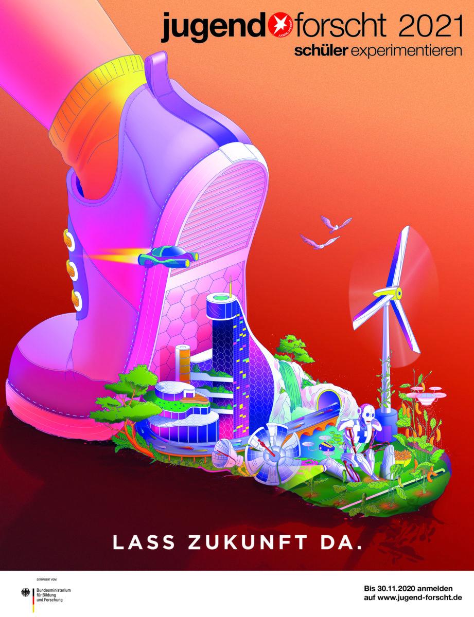 Plakat jugend forscht 2021