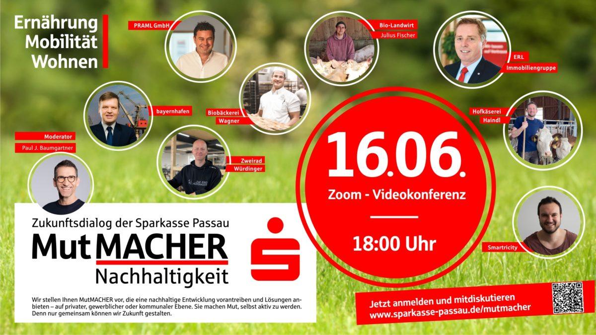 Ankündigung Veranstaltung Sparkasse Passau
